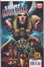 Secret Invasion #2 Dynamic Forces Alternate Variant COA DF Marvel comic book